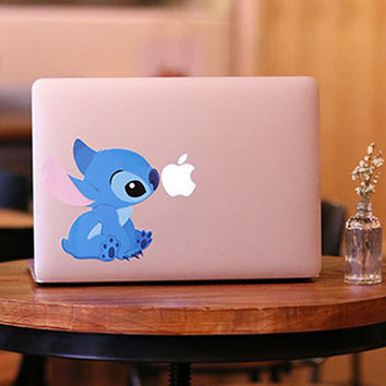Stitch Macbook Decal