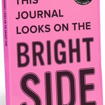 This Journal Looks on the Bright Side Neon Journal