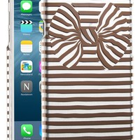 kate spade new york 'bow stripe' iPhone 6 & 6s case | Nordstrom