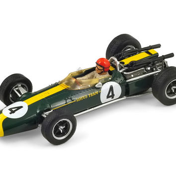 Lotus 43 BRM, French GP 1966, #4 Peter Arundell