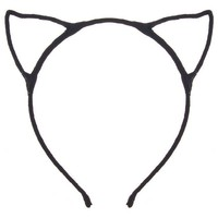Dani's Choice Cat Ear Headband - Black