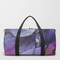 A Violet Gaze Duffle Bag by duckyb