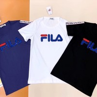 FILA Womens T-shirt with crystals