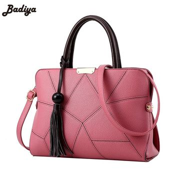 Woman Bag Korean Famous Brand Designer 2017 Cute Handbag For Women Tassel Tote Bags Female Large Capacity Crossbody Handbag