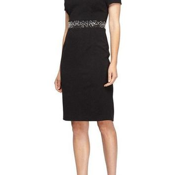 Alex Evenings Short Formal Cocktail Dress