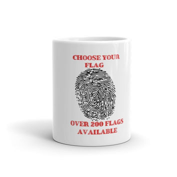 Custom Flag Order - Mug - 11oz