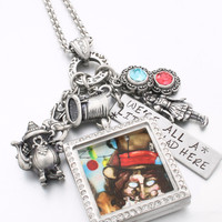 Mad Hatter Necklace Locket