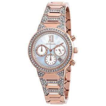 Wittnauer Chronograph Mother of Pearl Dial Ladies Watch WN4068