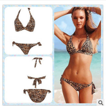 Hot Swimsuit Beach Summer New Arrival Swimwear Ladies Leopard Sexy Bikini [6047436993]