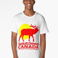 'Saskatchewan' Long T-Shirt by IMPACTEES