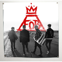 Fall Out Boy Poster Flag