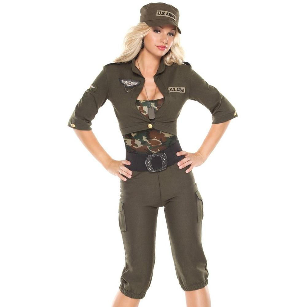 sc 1 st  wanelo.co & Coquette Womens Army Girl Halloween Party from BHFO