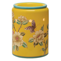 Madame Butterfly Yellow Scentsy Warmer PREMIUM