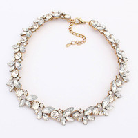 Jewelry New Arrival Gift Shiny Stylish Vintage Floral Necklace [6586375879]