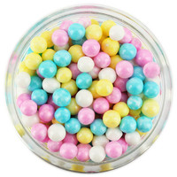 Pearly Spring Mix Sugar Pearls