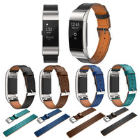 Luxury Genuine Leather Band For Fitbit Charge 2