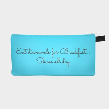 Diamonds for Breakfast Pouch
