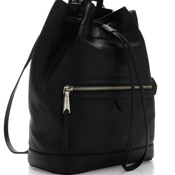 Margot Pebbled-Leather Backpack by Rochas - Moda Operandi