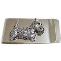 Scottish Terrier Dog Money Clip