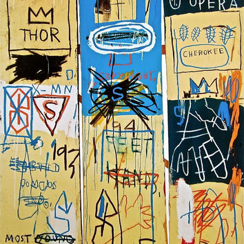 Charles the First (1982), Giclee Print, Jean-Michel Basquiat