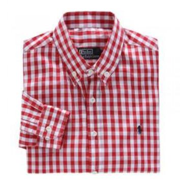 Beauty Ticks Ralph Lauren Men Home Long Sleeve Shirts Rlmls095