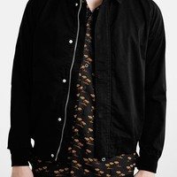 Men's Topman Black Harrington Jacket,