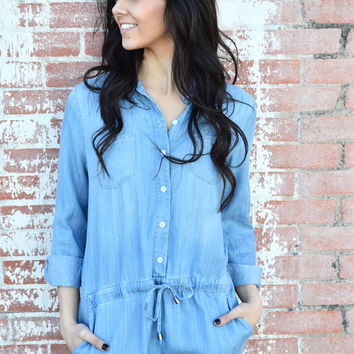 All Day Chambray Romper