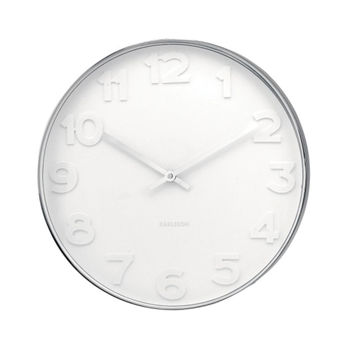 Mr White - Numbers Clock - Small / Large