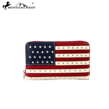 Montana West American Pride Collection Wallet