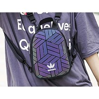 Adidas fashion lady shopping bag backpack Gradient