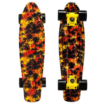 Graphic Penny Style Cruiser Board 22 inch Africa Plastic Fish Skateboard