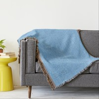 Blue Tangle Abstract Throw