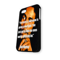 Bob Marley Quotes iPhone 4/4S Case