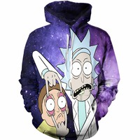The Rick And Morty Intergalactic Hoodie
