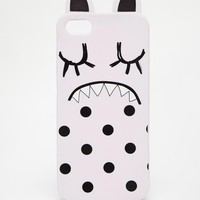 ASOS Eyelash Monster Jelly iPhone 5 Case with Spots and Ears