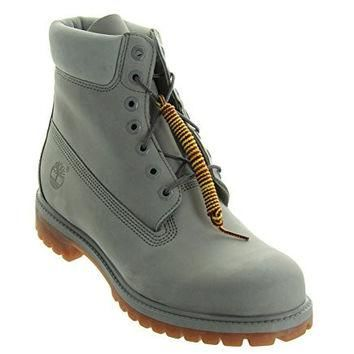 Timberland 6 Inch Premium Waterproof Mens Boots Light Grey tb0a1gau (13 D(M) US)