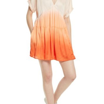 Free People Sun Up Tie Dye Tunic Dress | Nordstrom