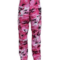 Buy Pink Camo Pants at Army Surplus World