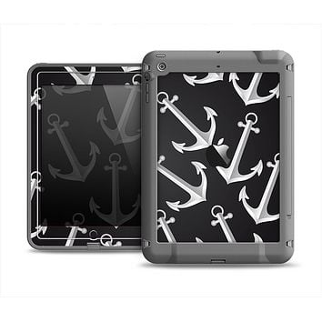 The Black Anchor Collage Apple iPad Mini LifeProof Fre Case Skin Set