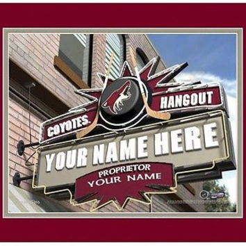 Hockey-NHL Phoenix Coyotes Sports Hangout Print personalized gift it