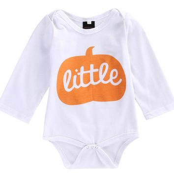 Halloween Kids Clothes Baby Boys Girls Cotton Long Sleeve Romper Jumpsuit Newborn Kids Clothes Outfits Costume