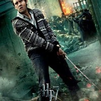 Harry Potter and the Deathly Hallows: Part II (UK) 11x17 Movie Poster (2011)