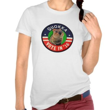 Vote Quokka for President in 2016 T Shirts
