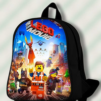 The Lego Movie poster - Custom SchoolBags/Backpack for Kids.