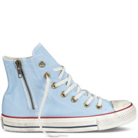 Converse - Chuck Taylor Washed Side Zip - Hi - Blue