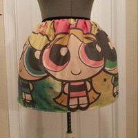 Powerpuff Girls full skirt - made to order