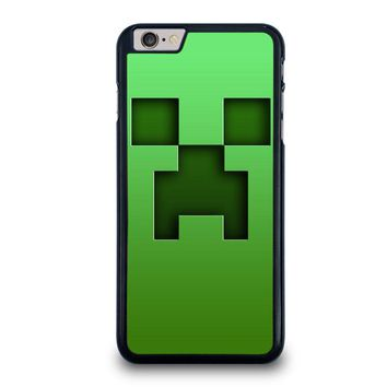 creeper minecraft iphone 6 6s plus case cover  number 1