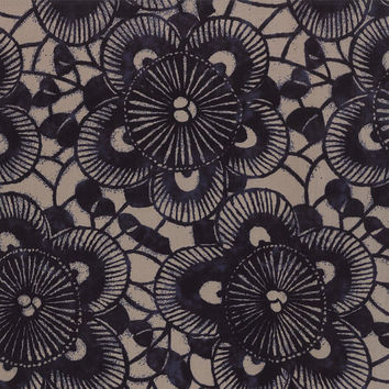 Kasuri Sakura by Moda Fabrics, Antique Blue, fabric yardage
