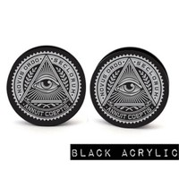 ALL SEEING EYE Body Jewelry Plugs | Plug Club
