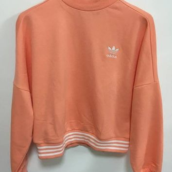 17b53553a14e2 Adidas Originals X Pharrell Williams Hu Coral Sweatshirt